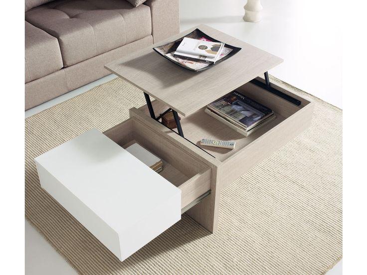 Mesa centro elevable mesa elevable centro salon mesa - Mesas salon extensibles ...