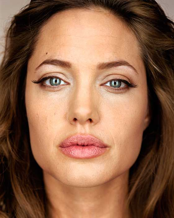 PHOTOGRAPHIE – Martin Schoeller – Angelina Jolie