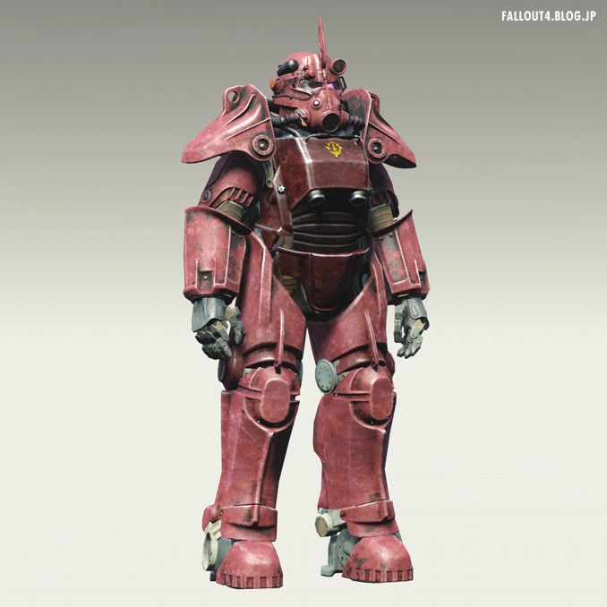 Fallout4: Zaku T45 Power Armor