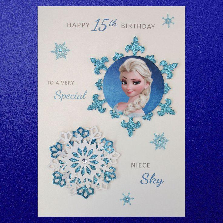 15 best Frozen cards images on Pinterest Frozen birthday Frozen