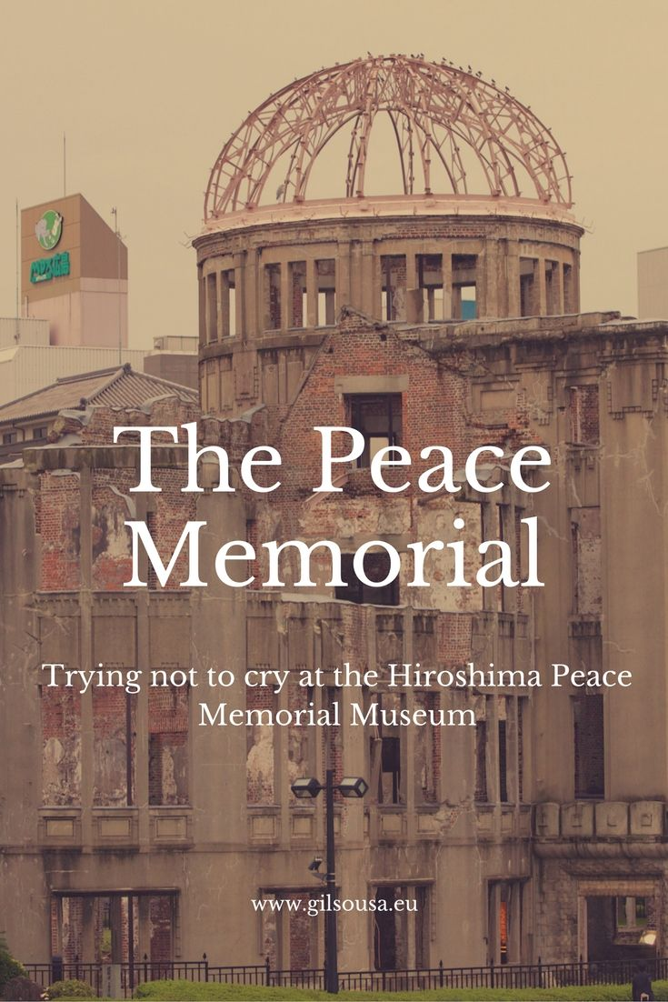 Trying not to cry at the #Hiroshima #Peace #Memorial Museum