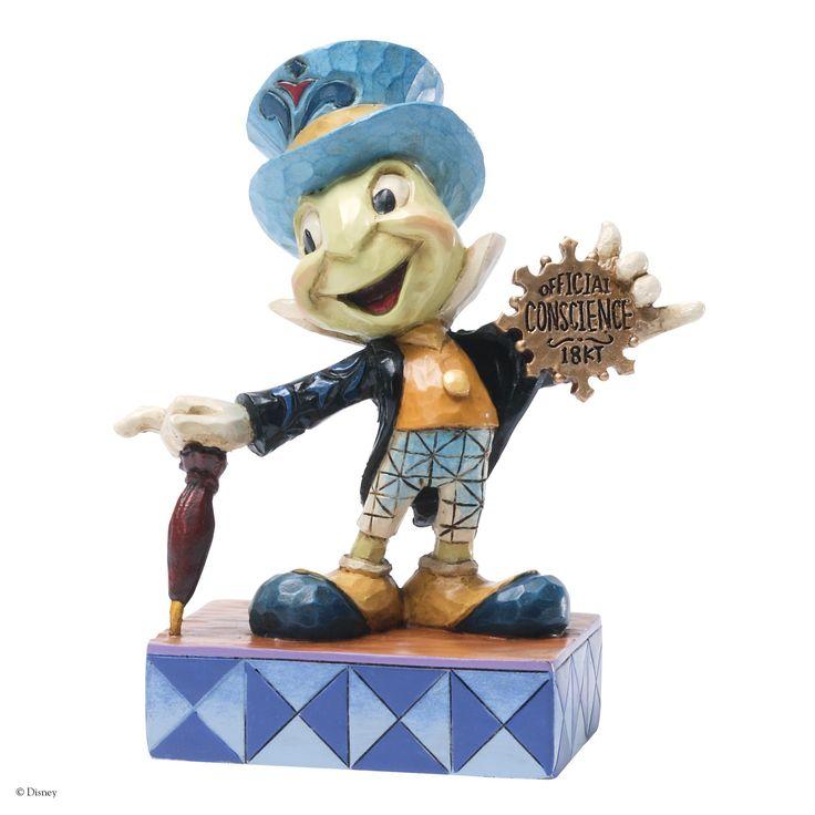 4031474 Official Conscience (Jiminy Cricket)- Jiminy Cricket gets his official Conscience badge and helps us all stay on the right track #disney #jimshore #enesco