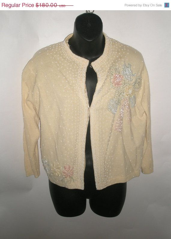 HOLIDAY CLEARANCE SALE Gorgeous 50s Vintage by VintageClothes4U, $45.00