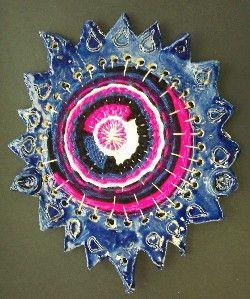Circular Ceramic Looms - Waunakee Community School District - Sophie Wagner-Marx