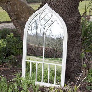 Clematis Garden Mirror - bedroom
