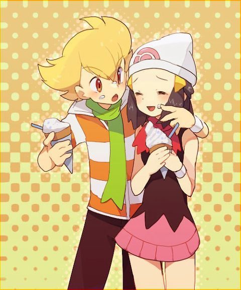 Pokemon Dawn: 1077 Best Images About Pokemon & Amourshipping (mostly