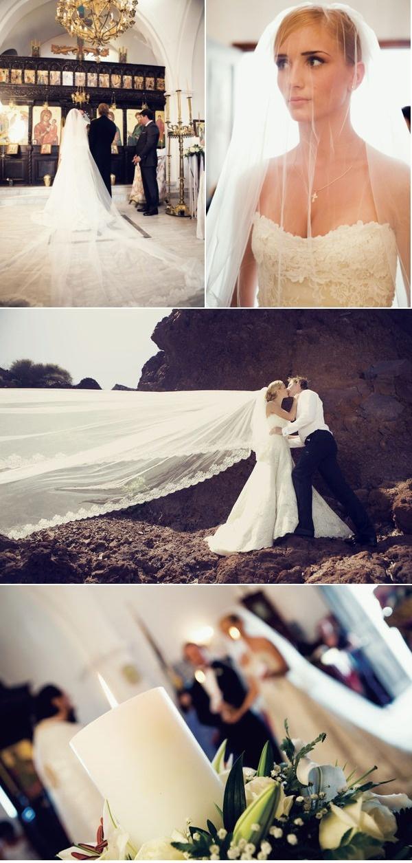 Greece Wedding by #Weddings in #Santorini