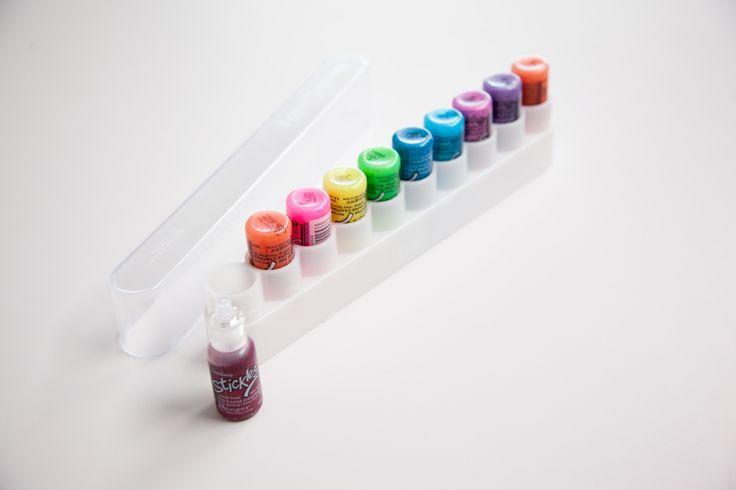 Storing your Stickles. - Scrapbook.com