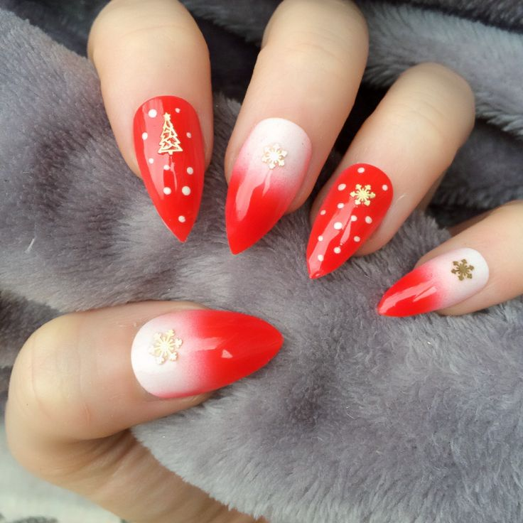 Christmas False Nails Uk: 147 Best Images About Christmas Nails On Pinterest