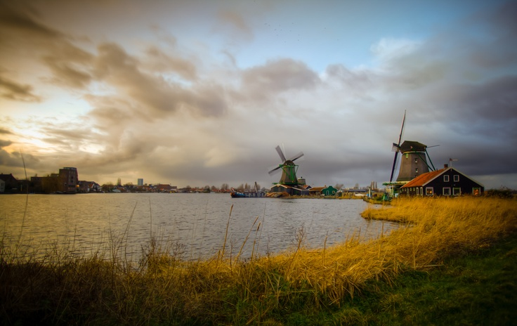 Kinderdijk is a village in the Netherlands, belonging to the municipality of Nieuw-Lekkerland, in the province South Holland, about 15 km east of Rotterdam