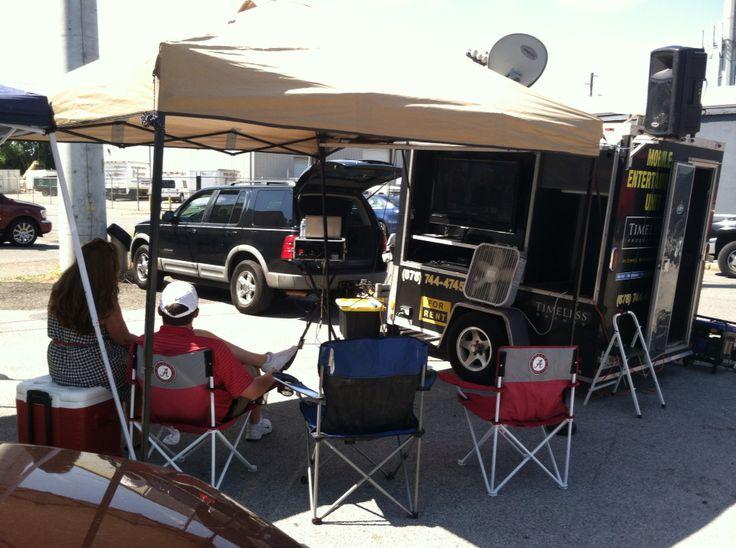 Alabama vs Florida  Tailgate setup