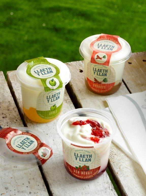 Llaeth y Llan luxury yogurt