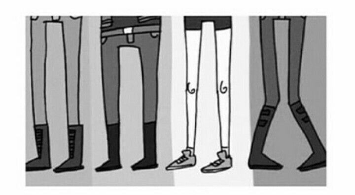 You know you're obsessed when you can recognise the band and every member