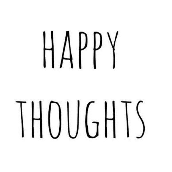 Happy thoughts - www.instawall.nl