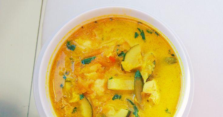 Oppskrift: Indisk kyllingsuppe - Carolines Verden