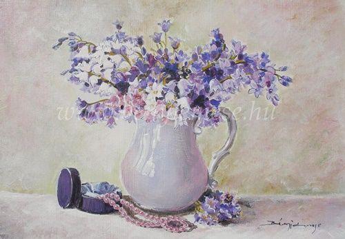 Csendélet festmények - Bényi Emese képek