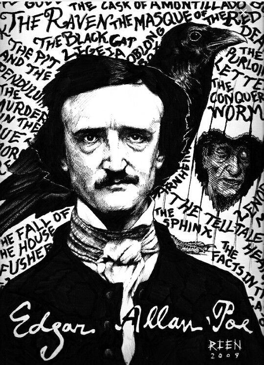 the life and work of edgar allan poe Edgar allan poe is arguably one of the most widely known american writers in history in fact this playlist includes songs inspired by the work and life of edgar allan poe what would you add to your edgar allan poe playlist.