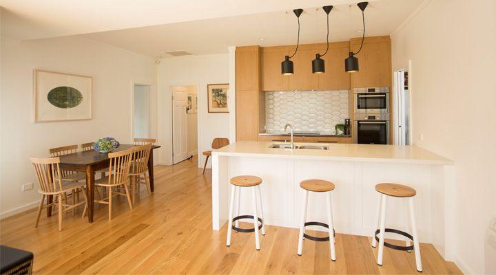 Auckland renovation in Mt Eden by Rogan Nash Architects (kitchen design)