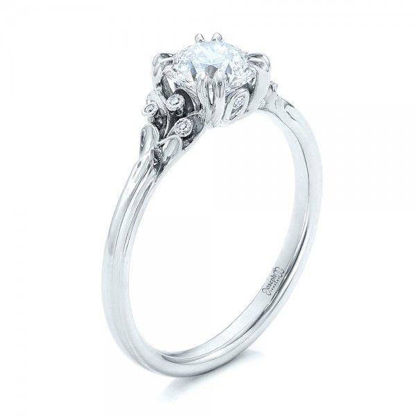 Beautiful Custom Diamond Engagement Ring