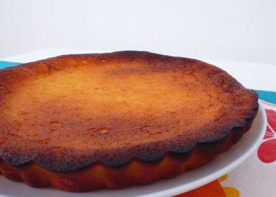 Receitas - Tarte de queijo fresco e laranja - Petiscos.com