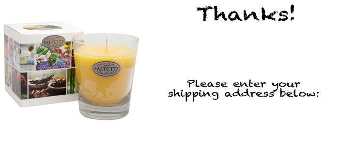 Free Salt City Candle
