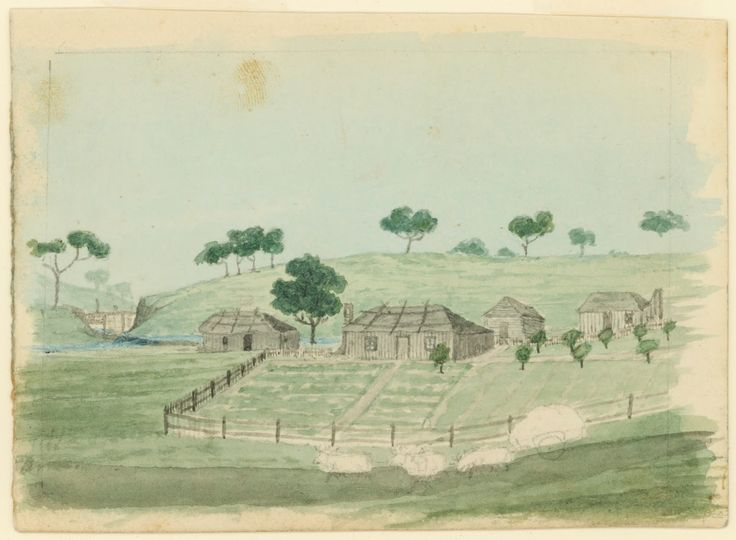 Mr. Birch's Homestead, Seven Hills Estate 1844