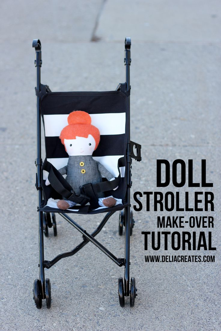 Baby Stroller Make Over - Delia Creates