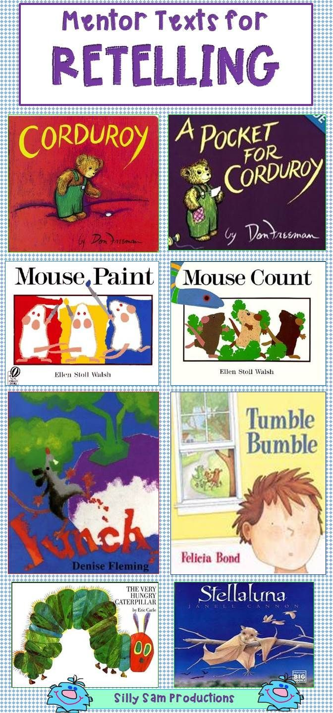 Great Mentor Texts for RETELLING!