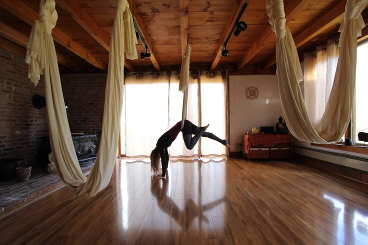 Conditioning and Stretching -- Aerial Fitness -- Silk ...