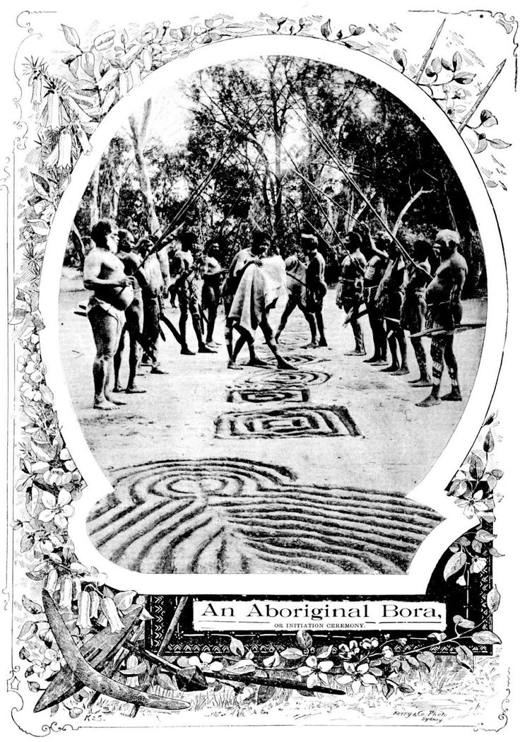 Historic Event - An Aboriginal Bora 1898