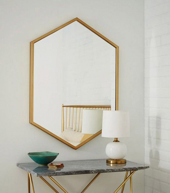 9+Eye-Catching+Wall+Mirrors+to+Spruce+Up+Any+Space+via+@mydomaine