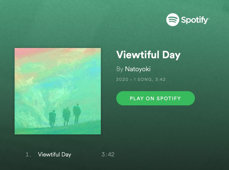 Listen new spotify track by natoyoki viewtiful day in
