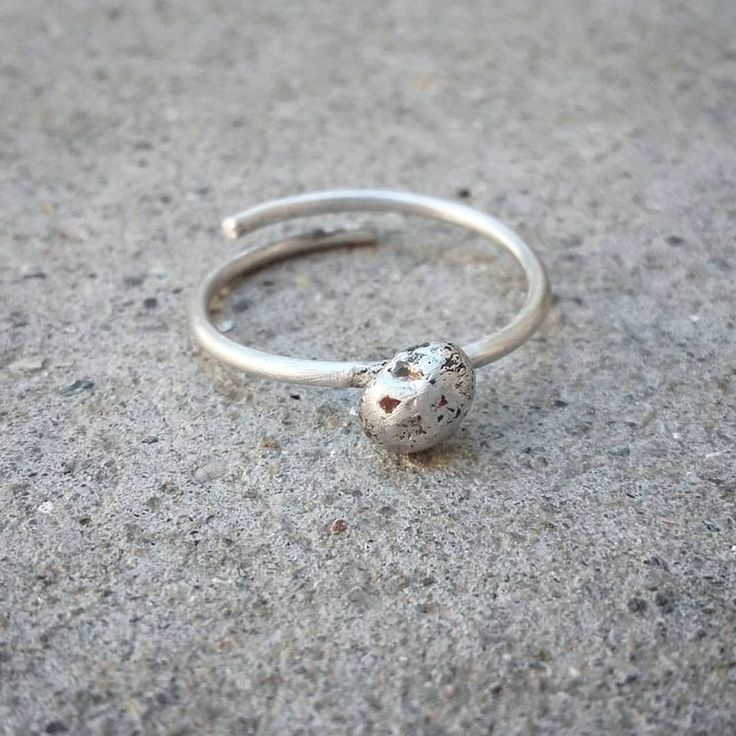 #handmadering #silver925 #cute #minimal
