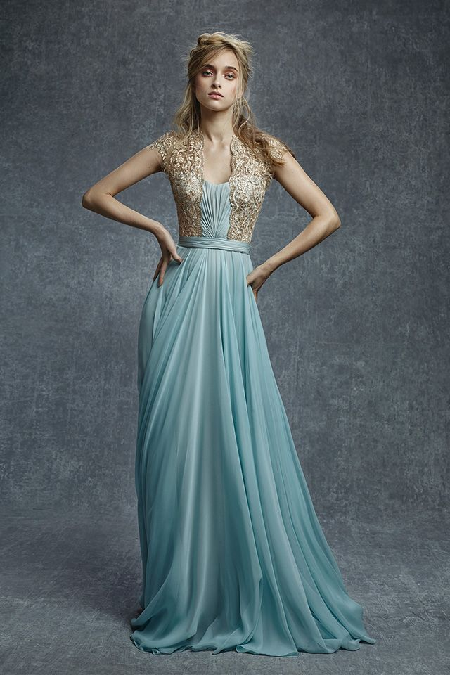 Inspired by Frozen: Reem Acra #disney #designerfashion #couture