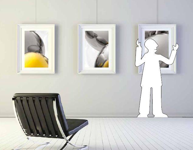 No mas clavos para colgar cuadros best colgar cuadros sin - Clavos para pared ...