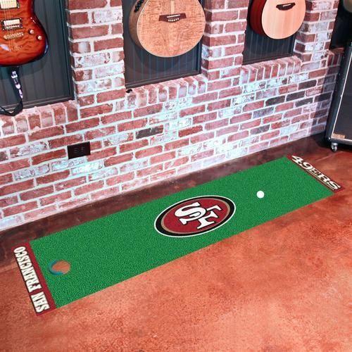 San Francisco 49ers Indoor Golf Putting Green