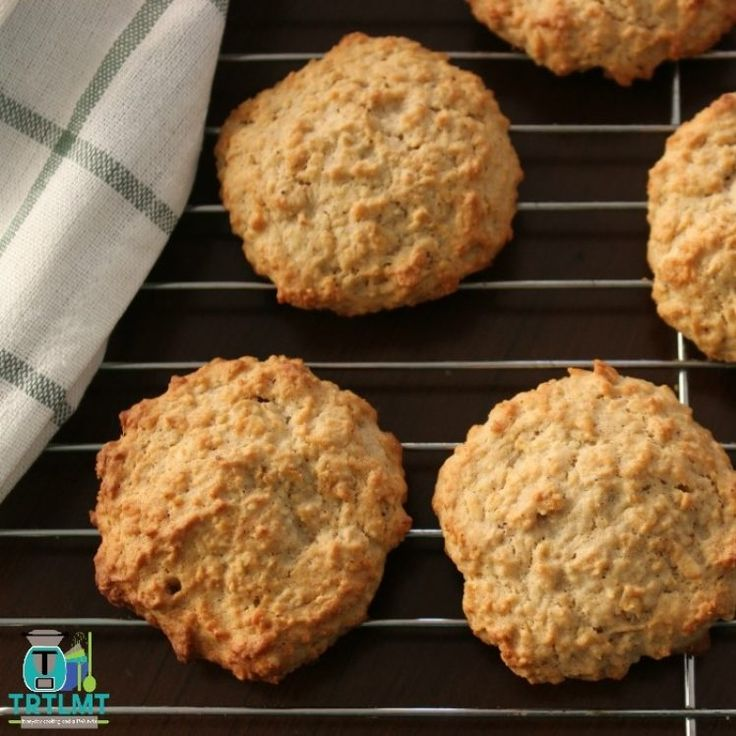 Banana Bread Biscuits – The Road to Loving My Thermo Mixer