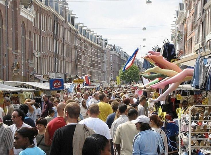 Albert Cuyp Markt in Amsterdam                           Overzicht                  Kaart