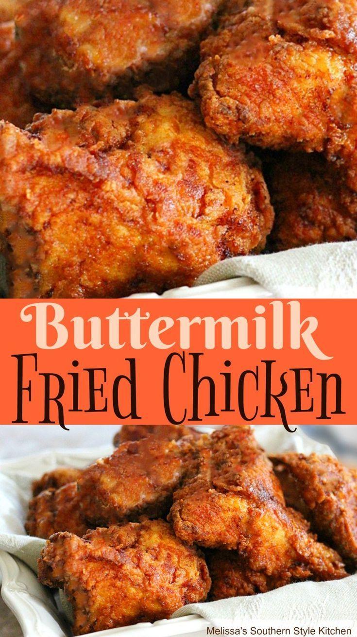 Buttermilk Fried Chicken Friedchicken Chicken Chickenfoodrecipes Southernstyle Southern B Fried Chicken Recipes Homemade Fried Chicken Fried Chicken Legs