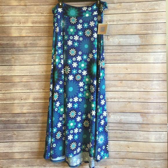 Lularoe Maxi skirt New with tag. Size Large✨ LuLaRoe Skirts Maxi