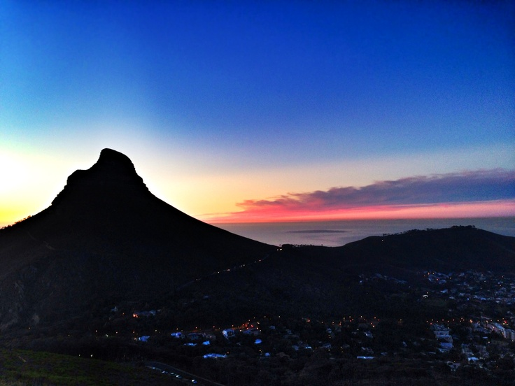 Lions Head and Signal Hill