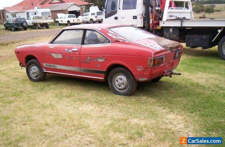 1976 Subaru Coupe 1600cc  #subaru #coupe #forsale #australia