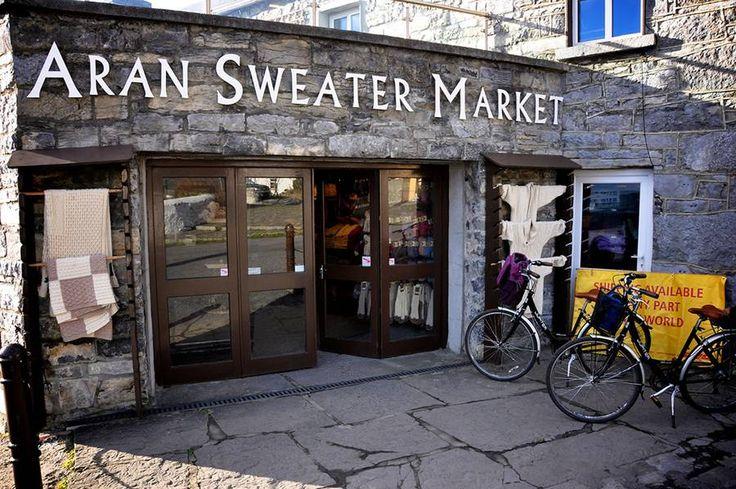 Aran Islands, Ireland... gorgeous pics & opt. video re: Aran Sweater..bicycle tour / photos