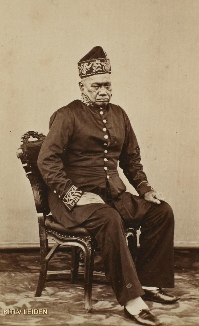 Djogoegoe (regent) of Gorontalo_1870