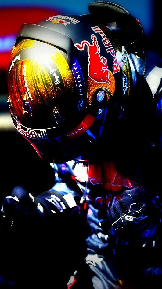 The Great Sebastian Vettel after winning his first home Grand Prix (2013)