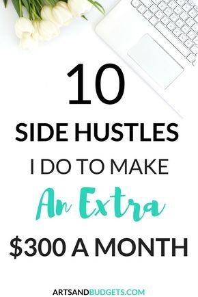 Looking for ways to make extra money? If so, check out this post filled with different ways I make extra money each month.- side hustle, side hustles, make extra money, ways to make extra money, work from home
