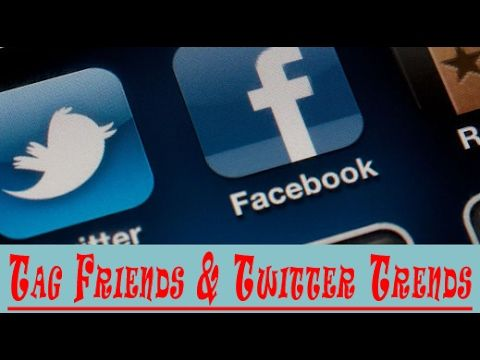 How to Check Twitter Trends And How to Tag Friends