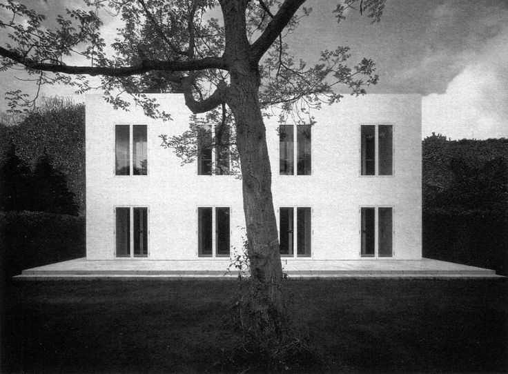 """Haus III or the """"House Without qualities"""" (Haus ohne Eigenschaften) is a late work by German architect Oswald Mathias Ungers which the architect built for his wife and himself. Constructed in Cologne in 1995, the house is considered an experiment on the reduction of architectural elements and it..."""