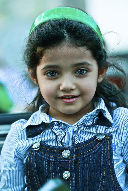 Saudi Arabian child