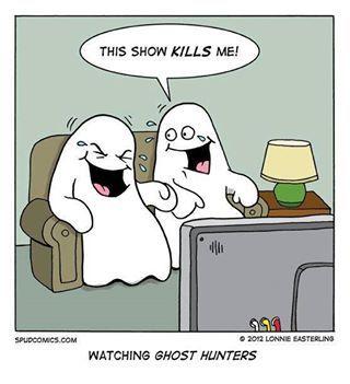 Watching Ghost Hunters